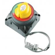 Coupe batteries motorisé 500A pour couplage d'urgence