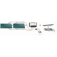 Kit solaire 200W / 12V UNITECK