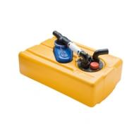 Réservoirs eaux noires 61L avec pompe 12 V ISO 8099