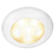 Plafonnier ambiance à LED plastique blanc Rakino