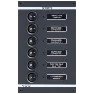 Tableau électrique 115/560V 4 circuits VDO