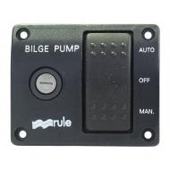Tableau de commande 12V pompe de cale RULE