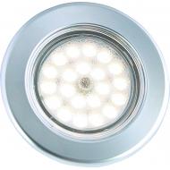 Plafonnier Vega 75 Touch 2W 12 LED avec variateur de luminosité tactile intégré, montage encastré