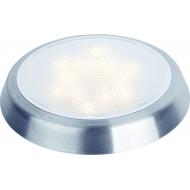 Plafonnier Saturn Touch 12 LED avec variateur de luminosité tactile intégré, montage plaqué