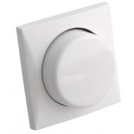 Interrupteur variateur blanc Twilight pour LED avec bouton rotatif