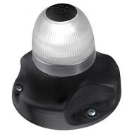 Feu de navigation base noire NaviLED®  360° blancs mât amovible