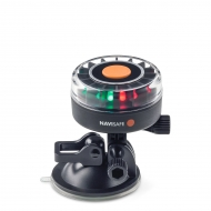 Navi Light 360° à LED tri-colores 2MN avec support ventouse double fonction