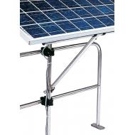 Support orientable pour panneau solaire fixation au balcon Ø 18,5 à 25,5 mm
