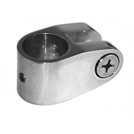 Collier pour bimini articulé pour tube Ø 20 et 22 mm en laiton chromé