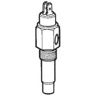Capteur température 120°C 5/8-18 NF3 + contact d'alarme VDO retour masse