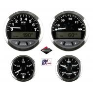 Afficheur voltmètre 10-16VDC VEETHREE Matrix