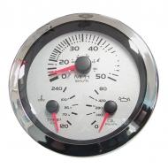 Indicateur multifonctions speedo / thermomètre / manomètre huile VEETHREE Multi