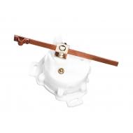 Emetteur d'angle de barre 1 poste compatible avec les séries Ultra, Dress White