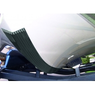 Keelshield, bande anti-ragage Blanc 6 ft - 1.83 m