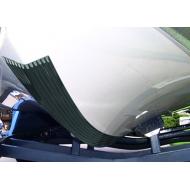 Keelshield, bande anti-ragage Blanc 8 ft - 2.44 m