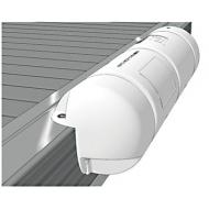 Défense Bumper 3/4 standard blanc Dimensions Ø 25 x 90 cm