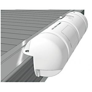 Défense Bumper 3/4 moussé blanc Dimensions Ø 25 x 90 cm