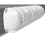 Défense Bumper 1/2 moussé blanc Dimensions Ø 25 x 90 cm