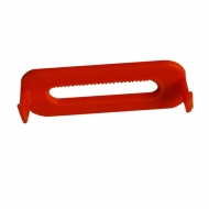clip orange 2 ergos pour lampe flash gilet Crewsaver