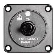Tableau de commande coupe batteries couplage parallèle