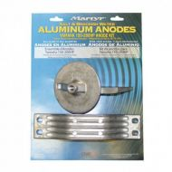 Kit anode alu YAMAHA 150-200cv (rotation standard)