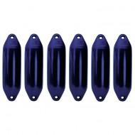 Lot de 6 pare-battages bleus 15x60cm PLASTIMO Performance