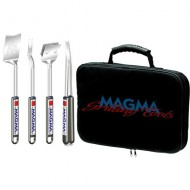 Set 4 ustensiles extensibles avec sacoche MAGMA