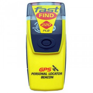 Balise de détresse PLB avec GPS MC MURDO FastFind 220