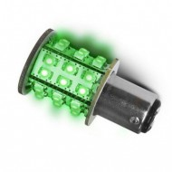 Ampoule verte 30 leds DIXPLAY Baïonnettes décalées BAY-15D
