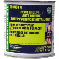 Peinture brillante anti-rouille (noir) (250ML) MATT CHEM Corust