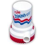 Pompe de cale immergée RULE 2000