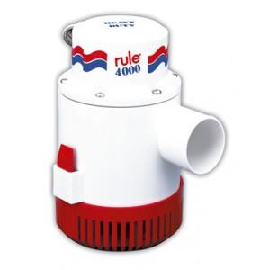 Pompe de cale immergée 12V RULE 4000