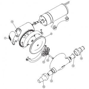 Kit entretien JABSCO SK880 pour pompe 50880