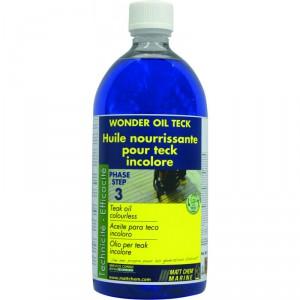 Huile pour teck incolore (1L) MATT CHEM Wonder Oil Teck
