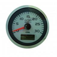 Speedomètre GPS 30 noeuds VEETHREE Argent Pro