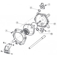 Kit entretien JABSCO pour pompe 29240
