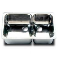 Évier double PLASTIMO inox 302