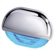 Éclairage de courtoisie bleu / inox 12/24V QUICK Eyelid Led