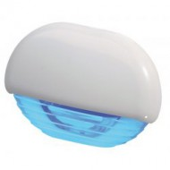 Éclairage de courtoisie bleu / plastique 12/24V QUICK Eyelid Led