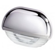 Éclairage de courtoisie blanc / inox 12/24V QUICK Eyelid Led