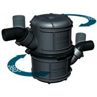 Echappement waterlock / silencieux Ø40mm VETUS type NLP