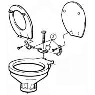 Charnière WC Regular JABSCO 29098-2000