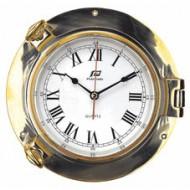 "Horloge 6"" laiton PLASTIMO"