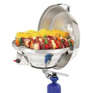 Barbecue inox à gaz (modèle standard) MAGMA Marine Kettle 3