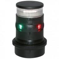 Feu de mât + mouillage tricolore LED AQUASIGNAL Série 34