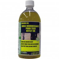 Huile pour teck reflet or (1L) MATT CHEM Golden Oil