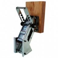 Chaise moteur pour 15cv - 30kg PLASTIMO Inox et contreplaqué