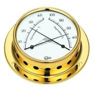 Conforimètre - hygromètre + thermomètre laiton BARIGO Temp