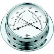 Conforimètre - hygromètre + thermomètre chrome BARIGO Temp
