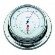 Conforimètre - hygromètre + thermomètre inox polie BARIGO Navigator